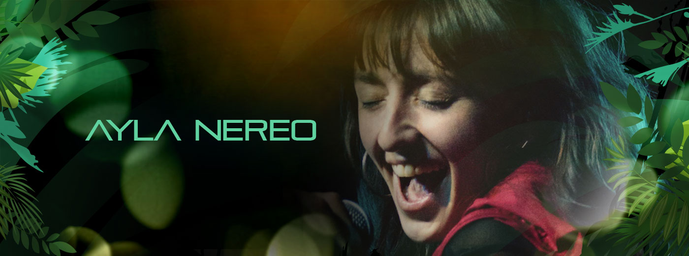 Ayla Nereo publicity photo. If linked, click to read about this musician