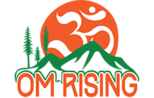 Om Rising logo. Click to visit them online.